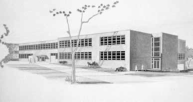 Latham Hall sketch