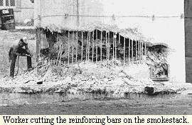 Smokestack construction