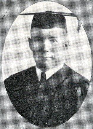 Gustave Kaltenbach graduation picture