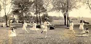 May Day dancing