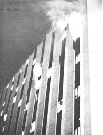 Bender Hall fire
