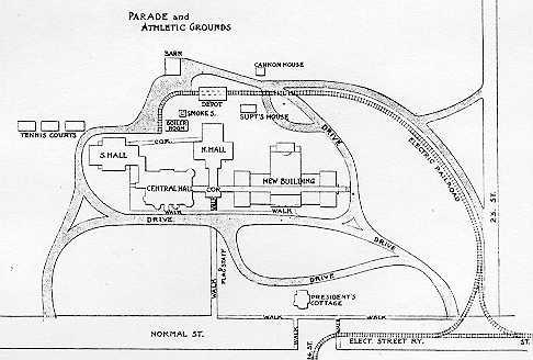 1901 Map