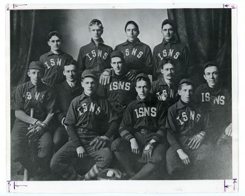 ISTC Baseball Team, c. 1902